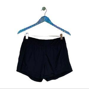 Athleta Stellar Black Running Activewear Shorts